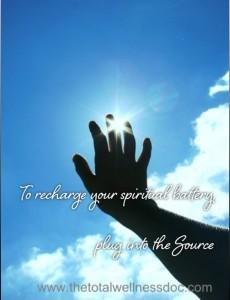 spiritual battery